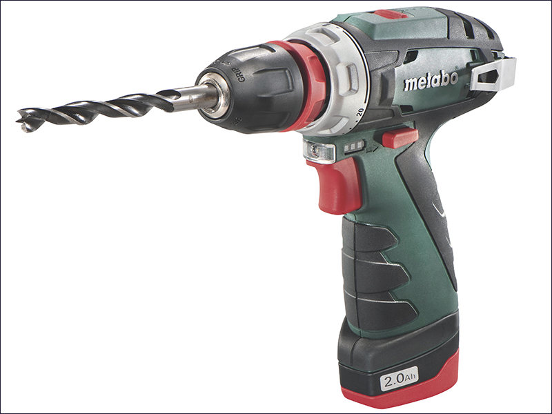 PowerMaxx BS Quick Basic Drill Driver 10.8 Volt 2 x 2.0Ah Li-Ion